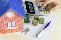 72226436-le-concept-de-calcul-des-coûts-prêt-hypothèque-communauté